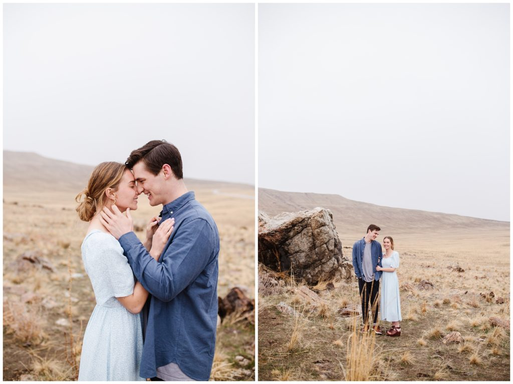 Utah Couples Session on the Great Salt Lake. Lifestyle Photography by Mary Horne Nelson.